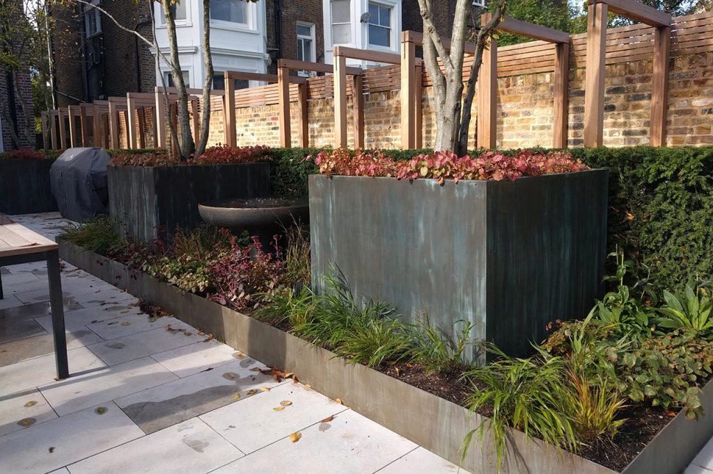 Hamilton Terrace Garden Boxes