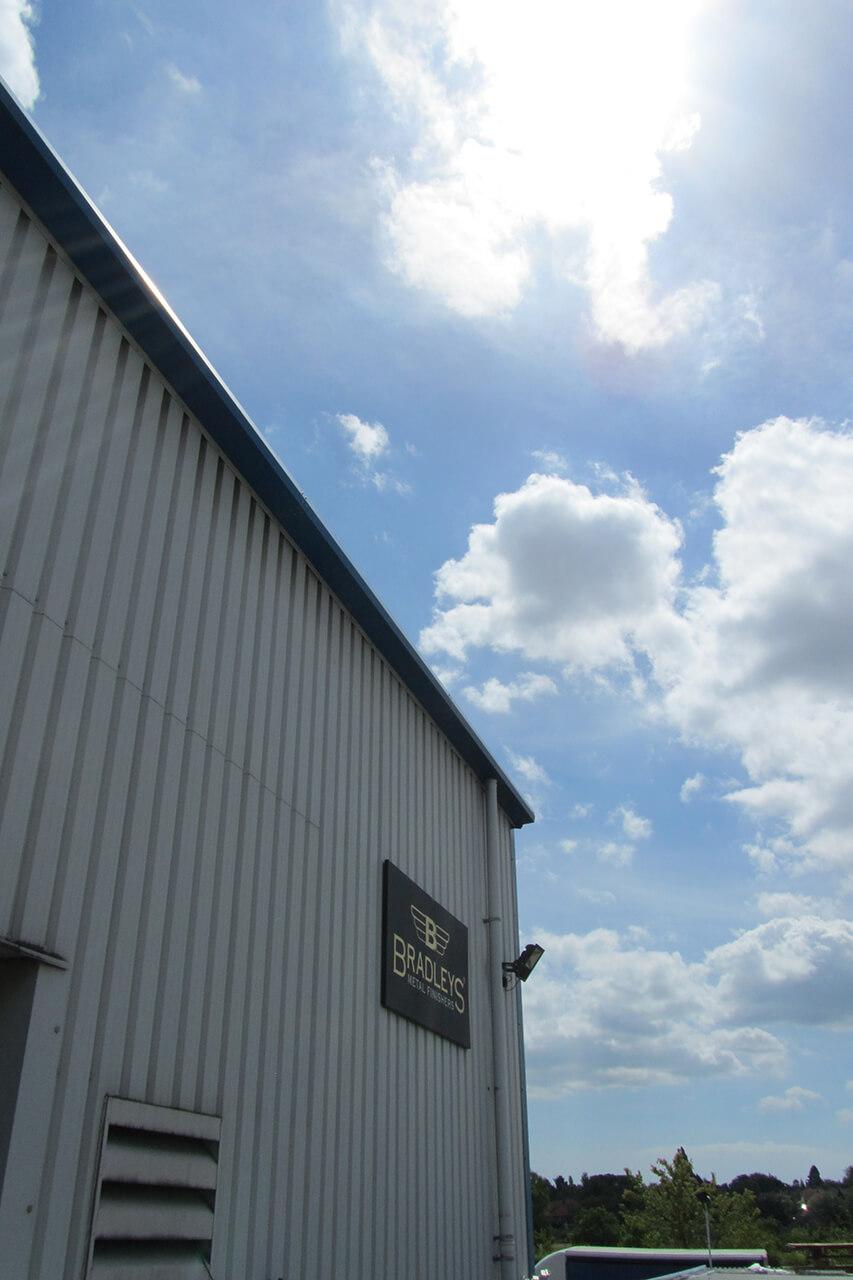 Bradleys factory sunny day
