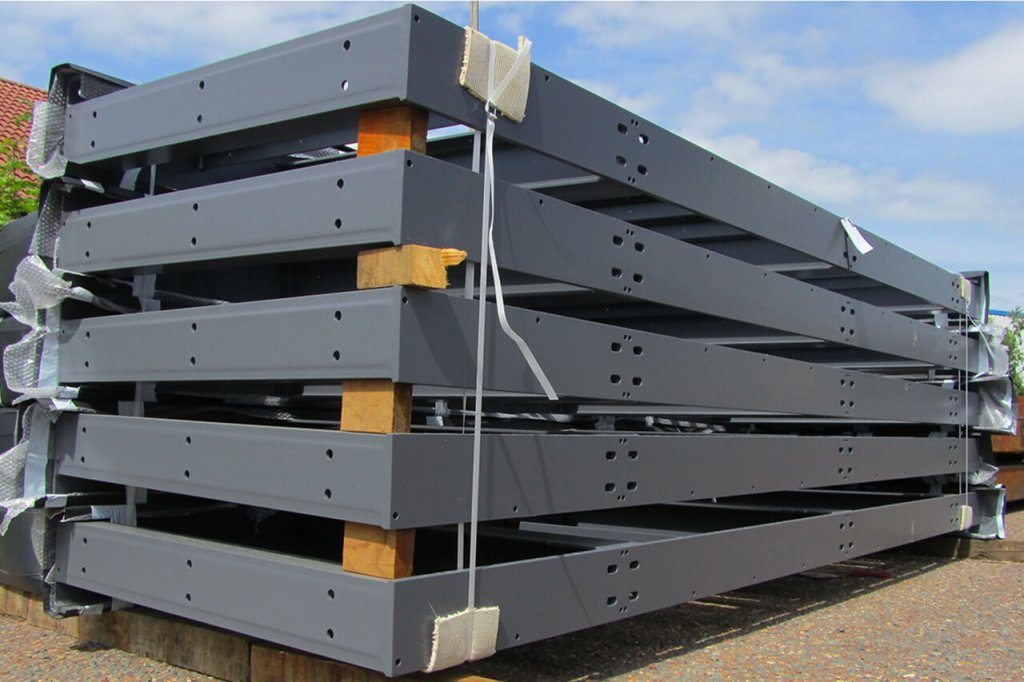 Coated balconies for delivery
