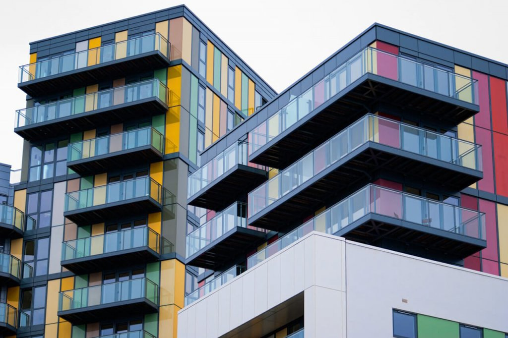 Lesney Oty Factory Balconies and Colour Cladding