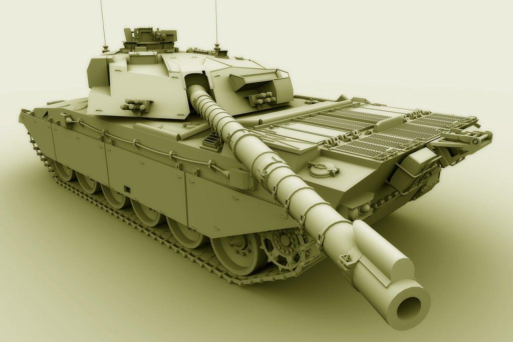 Challenger Tank 02