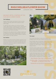 Thumbnail for case study of Chelsea Flower Show Sculptures