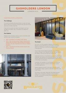 Thumbnail of case study for Gasholders London