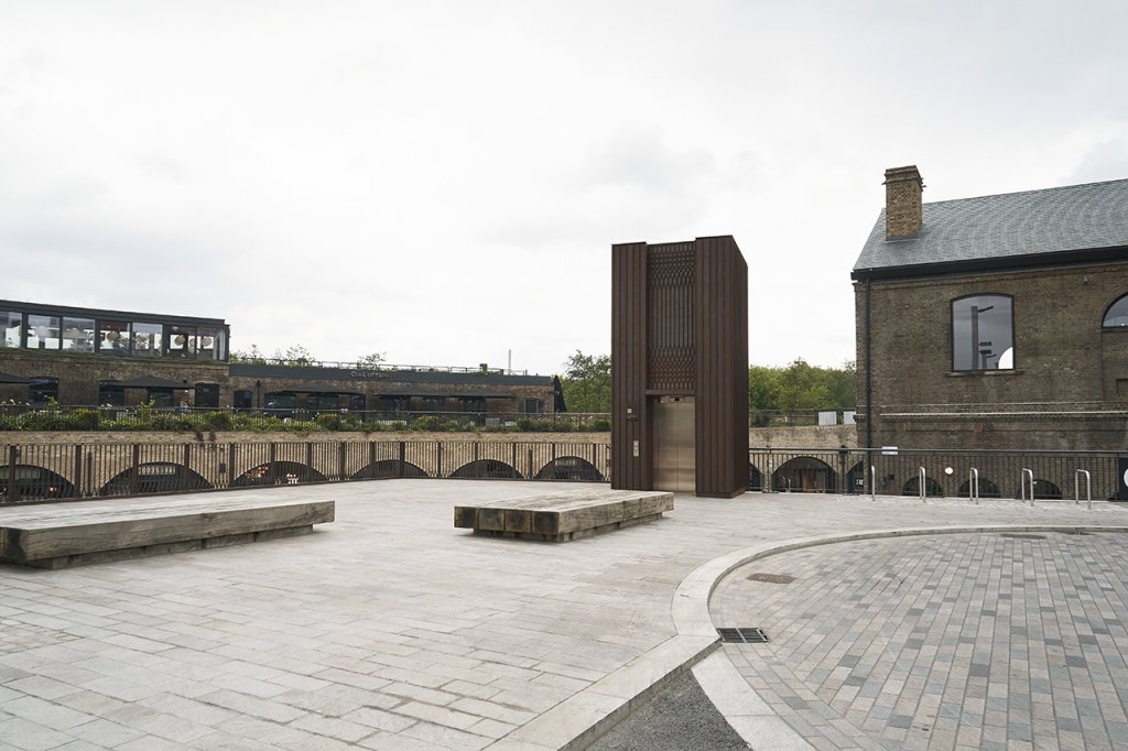 External view of Pavillion H Granary Square London