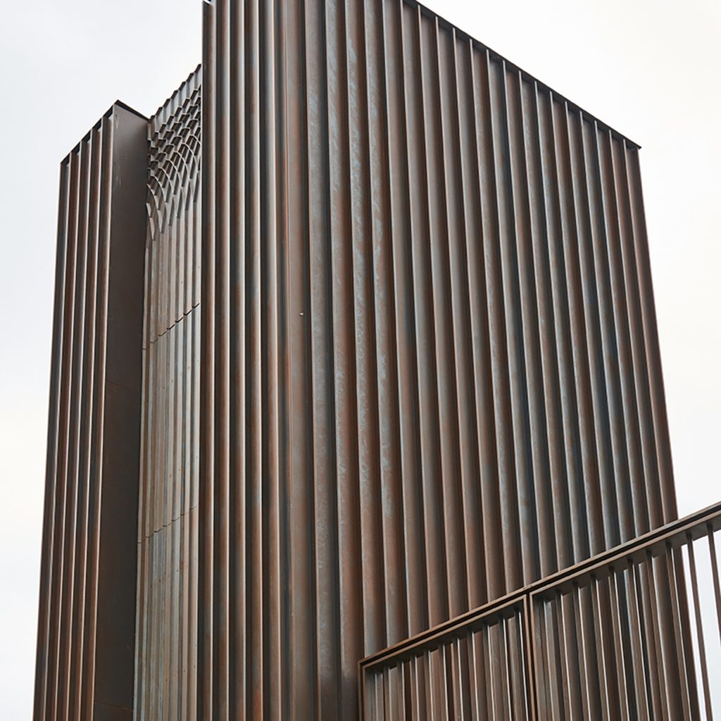 External view lift cadding Granary Square London